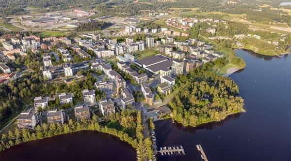 Uusia monipuolisia Avara-koteja Pyhäjärven rannalle Tampereelle
